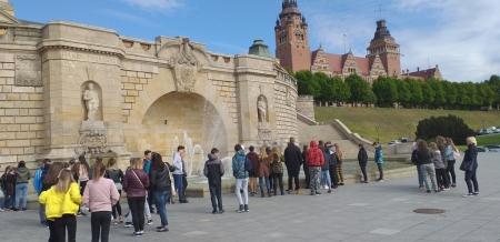 Klasy starsze na wycieczce w Szczecinie