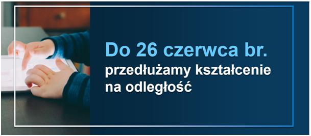 Praca szkoły od dnia 8 czerwca 2020r.