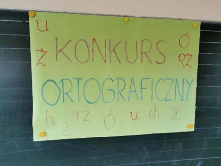 Konkurs ortograficzny