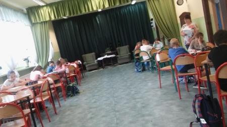 Konkurs matematyczny klas młodszych
